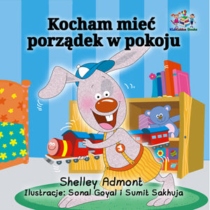Polish-Bedtime-Story-for-kids-about-bunnies-I-Love-to-Keep-My-Room-Clean-cover
