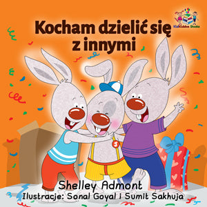 Polish-Language-kids-bedtime-story-Shelley-Admont-KidKiddos-I-Love-to-Share-cover