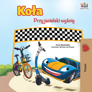 Polish-children_s-cars-picture-book-Wheels-The-Friendship-Race-cover