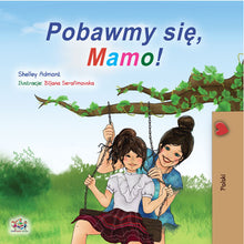 Polish-childrens-book-for-girls-Lets-Play-Mom-cover