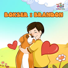 Polish-language-children's-dogs-friendship-story-Boxer-and-Brandon-cover