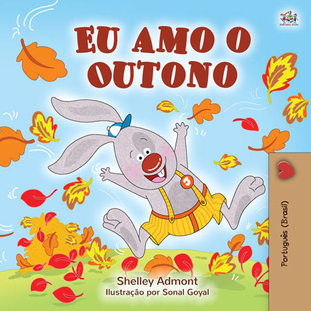 Portuguese-Brazilian-childrens-book-I-Love-Autumn-cover