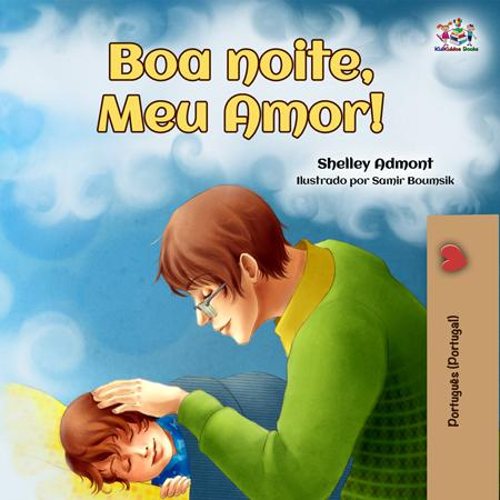 Portuguese-Portugal-children's-bedtime-story-Goodnight,-My-Love-cover