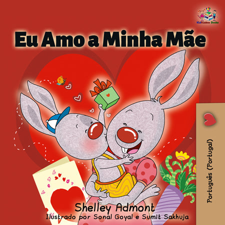 Portuguese-Portugal-childrens-book-by-KidKiddos-I-Love-My-Mom-cover
