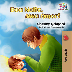 Portuguese-language-children's-picture-book-Goodnight,-My-Love-cover