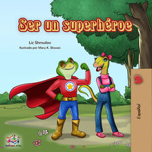 Spanish-kids-bedtime-stories-Being-a-Superhero-cover