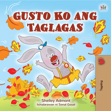I Love Autumn (Children's Book in Tagalog)