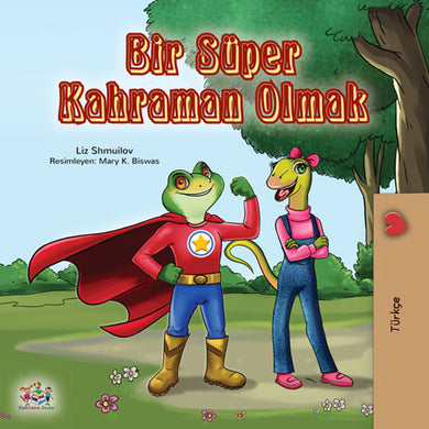 Turkish-bedtime-story-for-kids-Being-a-superhero-cover