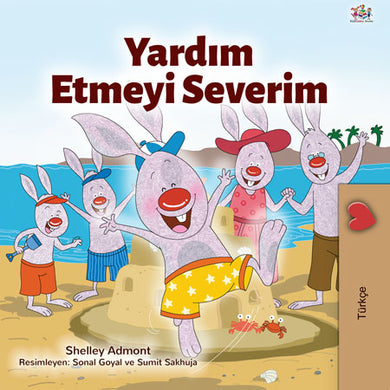 Turkish-children-I-Love-to-Help-bunnies-story-Shelley-Admont-cover