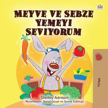 Turkish-language-kids-bunnies-book-I-Love-to-Eat-Fruits-and-Vegetables-Shelley-Admont-cover