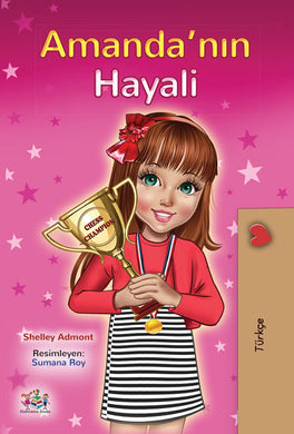 Turkish-motivational-book-for-kids-Amandas-Dream-cover