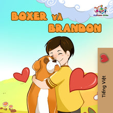 Vietnamese-language-children's-dogs-friendship-story-Boxer-and-Brandon-cover