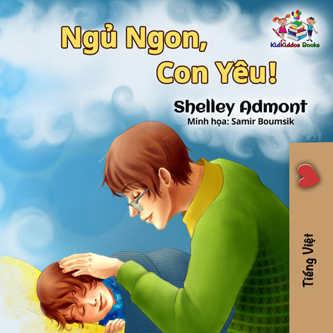 Vietnamese-language-children's-picture-book-Goodnight,-My-Love-cover