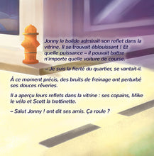 French-children's-picture-book-about-cars-Wheels-The-Friendship-Race-page1_2