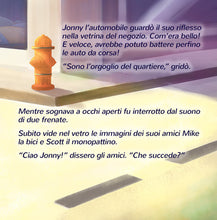 Wheels-The-Friendship-Race-Italian-language-kids-cars-picture-book-page1_2