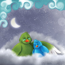 Hungarian-language-children's-picture-book-Goodnight,-My-Love-page14