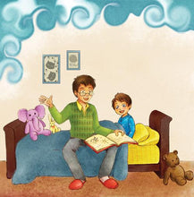 Ukrainian-language-children's-picture-book-Goodnight,-My-Love-page1