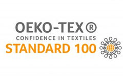 Oeko-Tex Standard 100 or Oeko-Tex Confidence in Textile, Organic and Environmentally Friendly Certificate to reduce harm to the environment. Found in High Quality made items like Designer Children Kids' Wear.