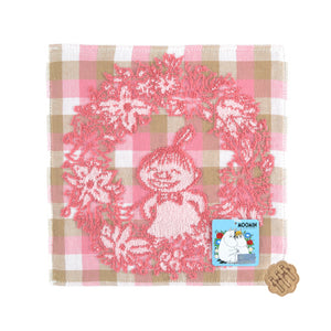 Moomin Flower Ring Towel 25x25cm