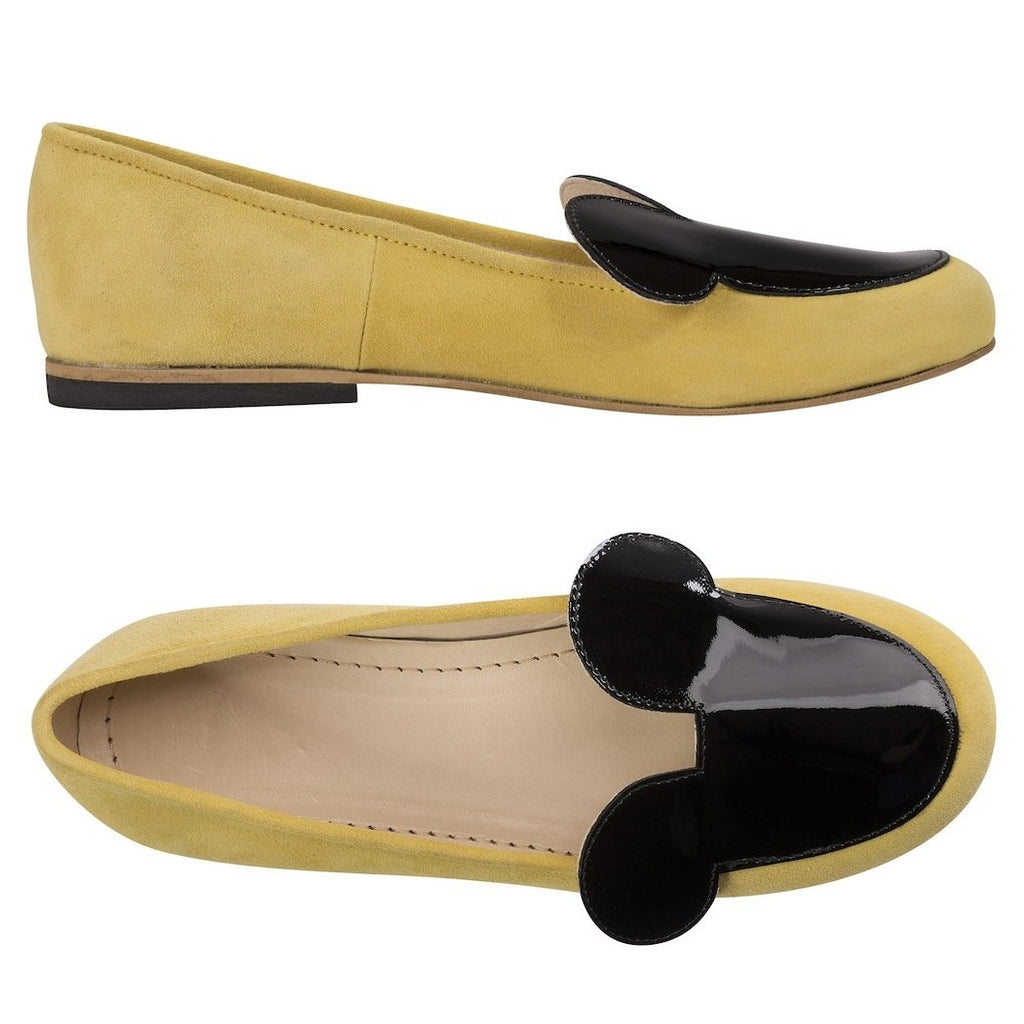 Yellow Miss Mouse Flats
