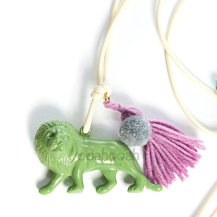 Lion Tassel Necklace