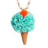 POM ICE CREAM NECKLACE