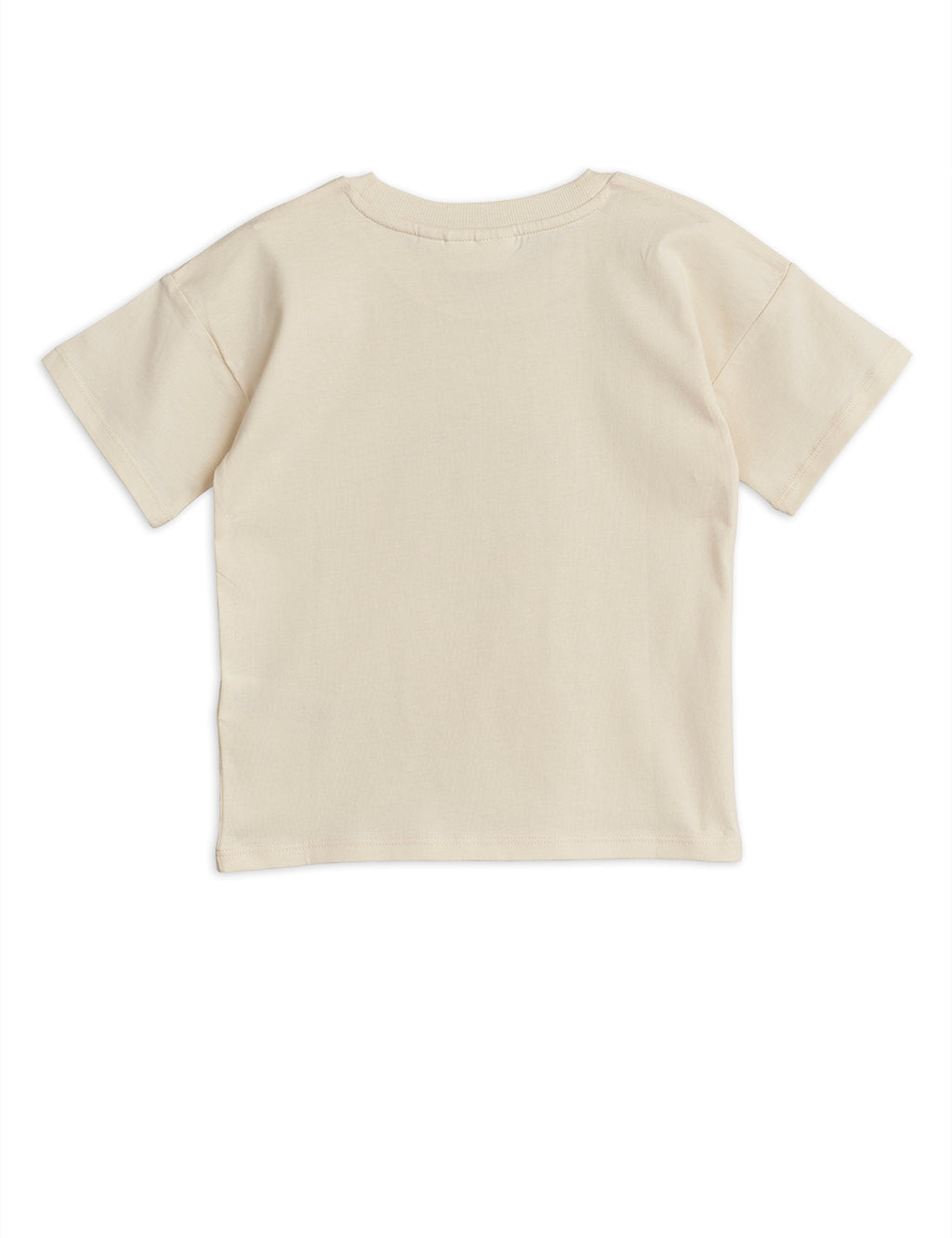 Beige Cotton T-Shirt