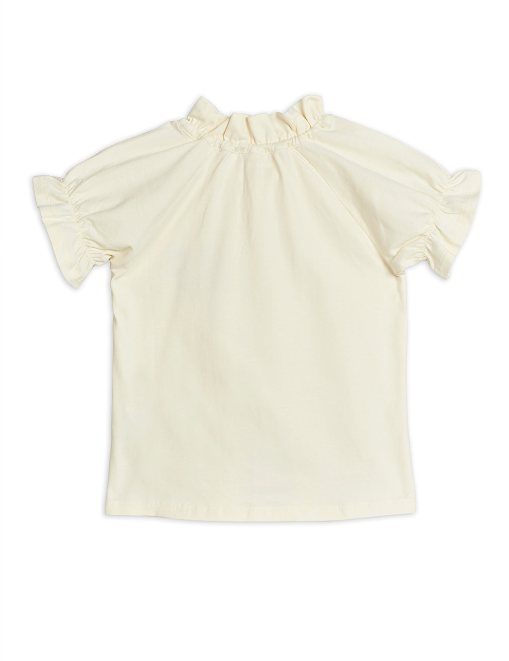 Ivory Horseshoe Cotton Blouse