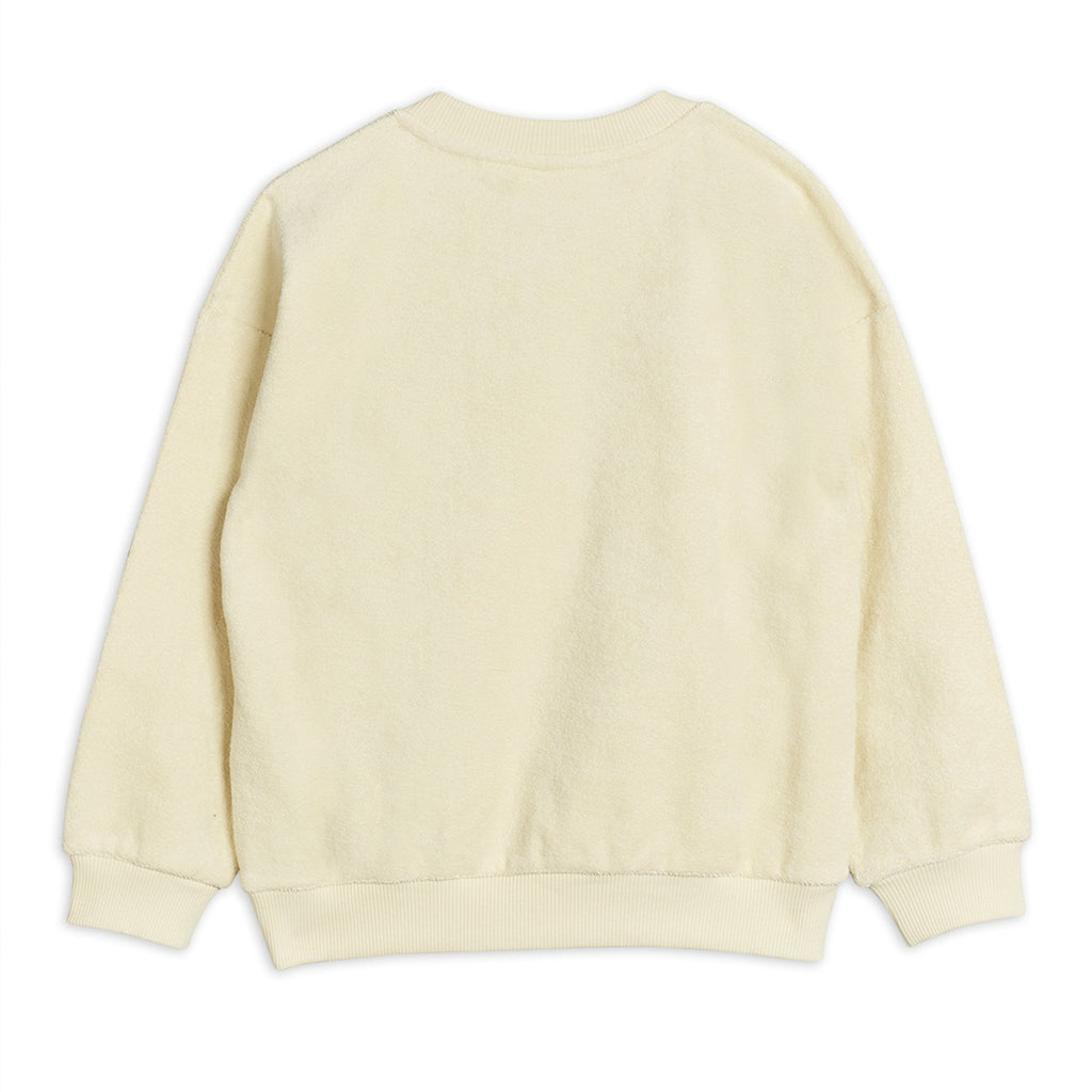 Ivory Cotton Sweatshirt