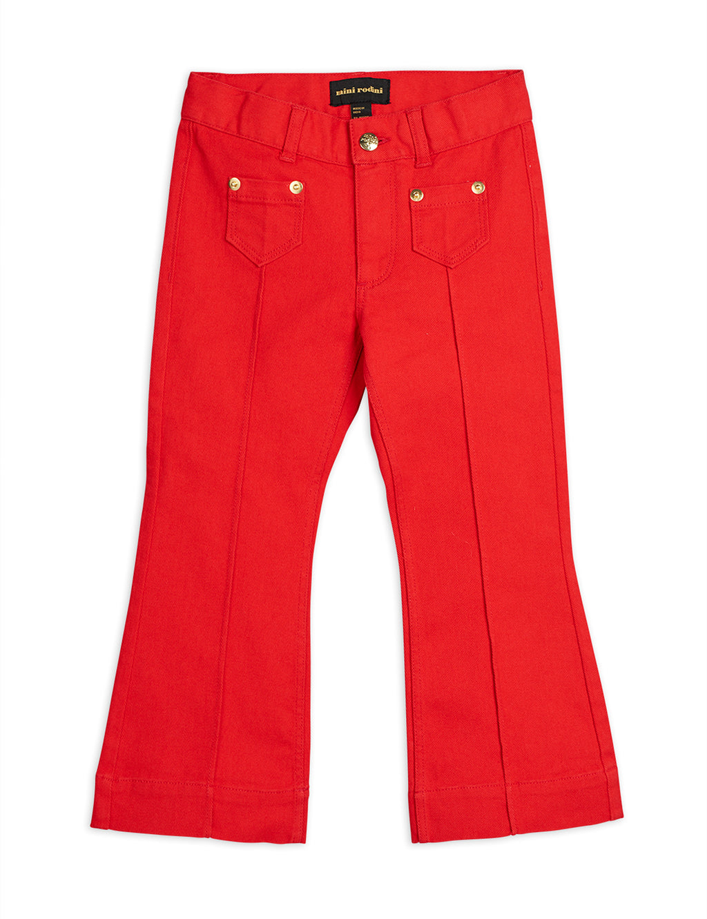 Red Denim Pants
