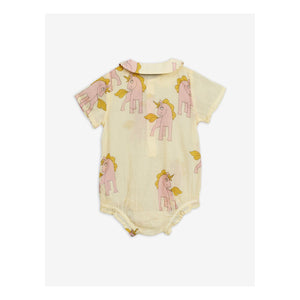 Yellow Cotton Shortie