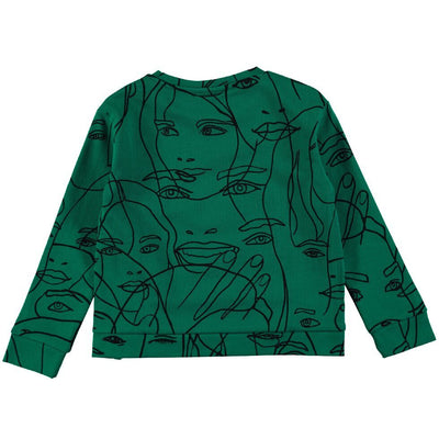 MALISSA SWEATSHIRT-GIRLY FACES