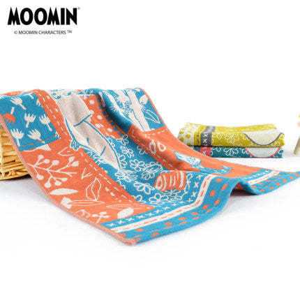 Moomin Long Blocking Towel 70x40cm