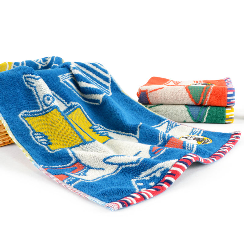 Moomin Blue Long Reading Towel 70x40cm