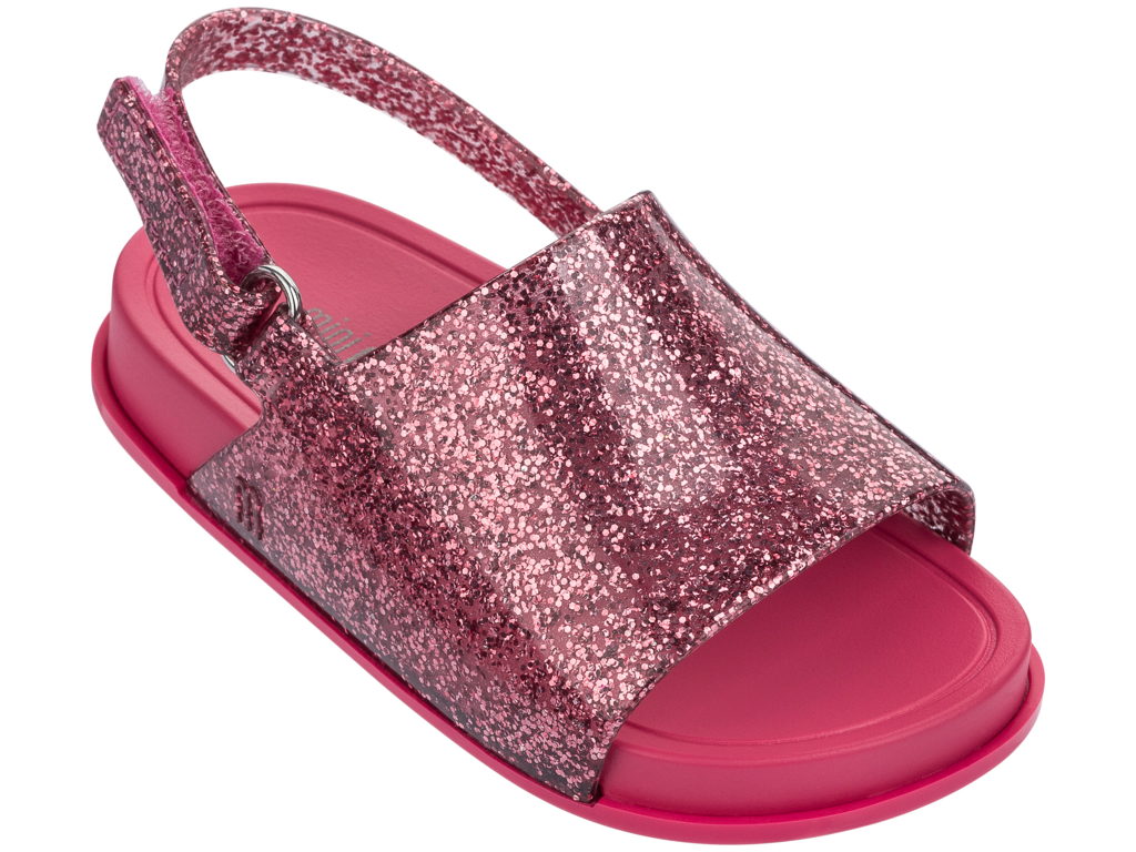 Chic and stylish summer style sandals for little baby girls by Mini Melissa