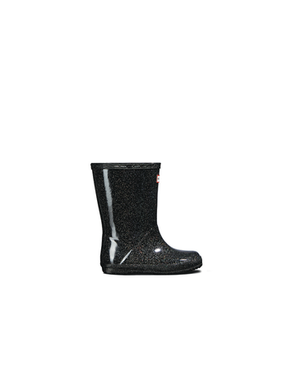Kids First Classic Black Star Cloud Rain Boots