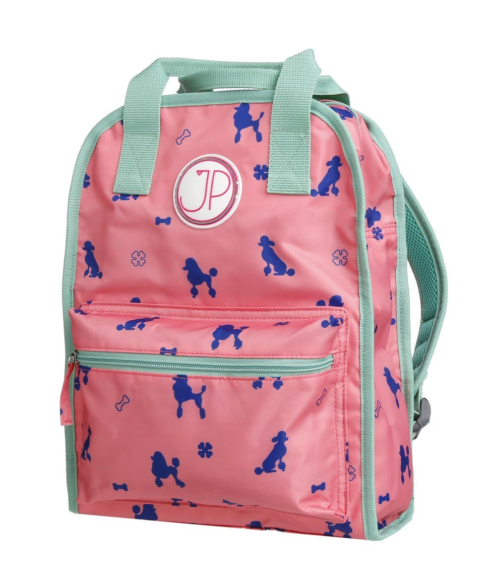 Amsterdam Large Pink Poodle Backpack