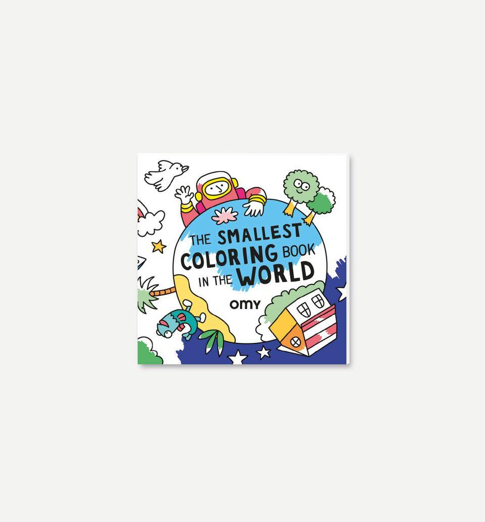 The Smallest Colouring Book