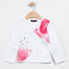 FLOWER-BIRDS LS T-SHIRT