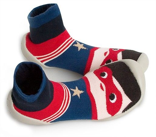 Superhero Sock Slippers