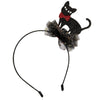 TULLE BLACK KITTY HEADBAND