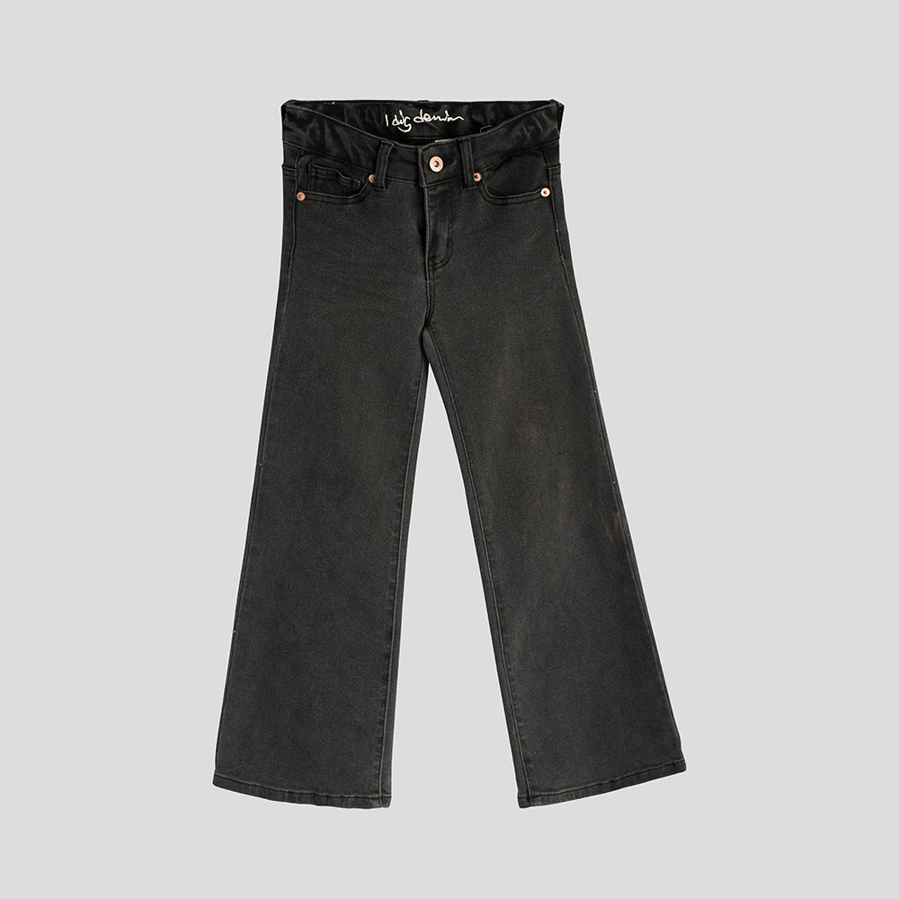 Harper Wide Jeans Black