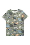 TOP MULTICOLOR WITH RHINOS SHORT SLEEVES