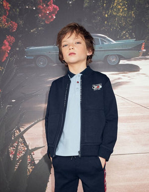 Boys' Skateboard Embroidery Jacket