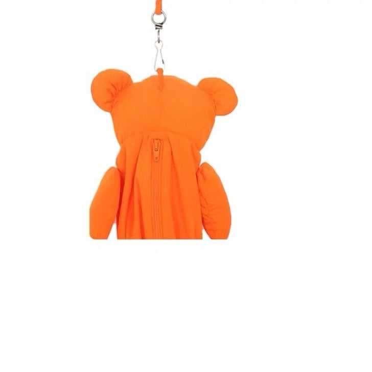 Orange Bear Bag
