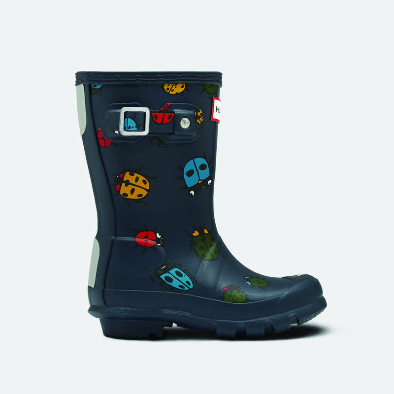 Original Kids Lady Bug Rain Boots