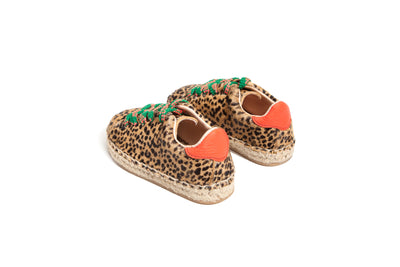 MINI GUARANA LEOPARD-PRINT CALF HAIR