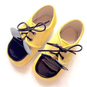 Yellow Mr Mouse Shoes