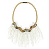 FRINGE NECKLACES WITH STAR