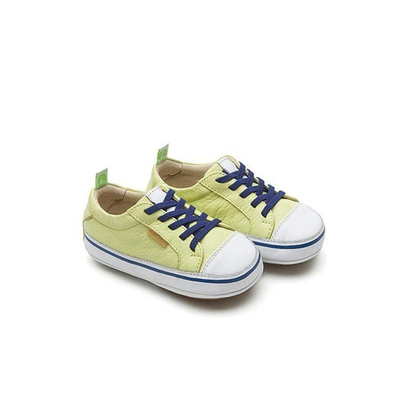 Lime White Originals Collection Sneakers